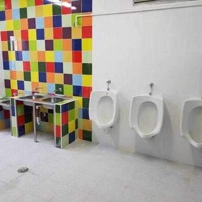 Instalación de fontanería para un colegio